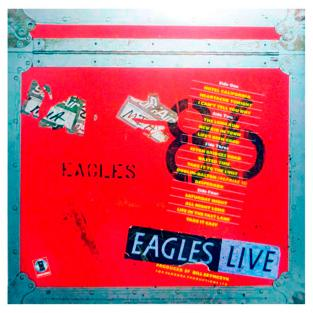 LP EAGLES ‎– Eagles Live, 1983
