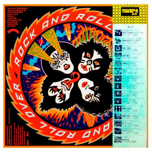 LP KISS – Rock And Roll Over, 1976/1980