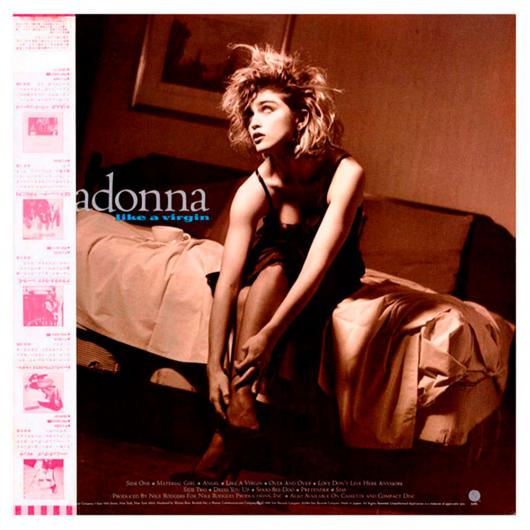 LP MADONNA ‎– Like A Virgin, 1984